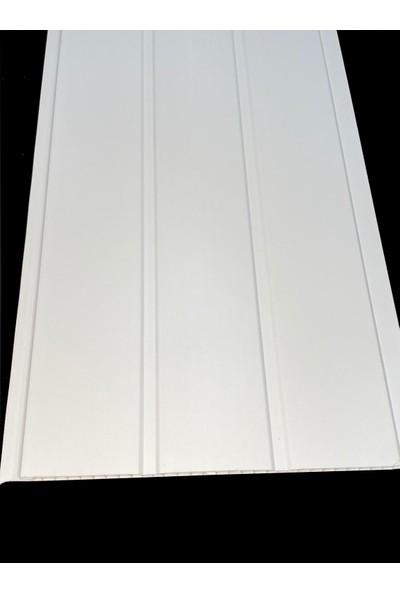 Koç Lambiri-Plastik Lambri-Beyaz Lambiri-Tavan ve Duvar-10 Adet- 25 cm x 3 m 7.5 Metrekare
