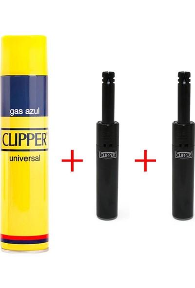 CLİPPER 250ML Çakmak Gazı & 2 Adet Minitube Çakmak