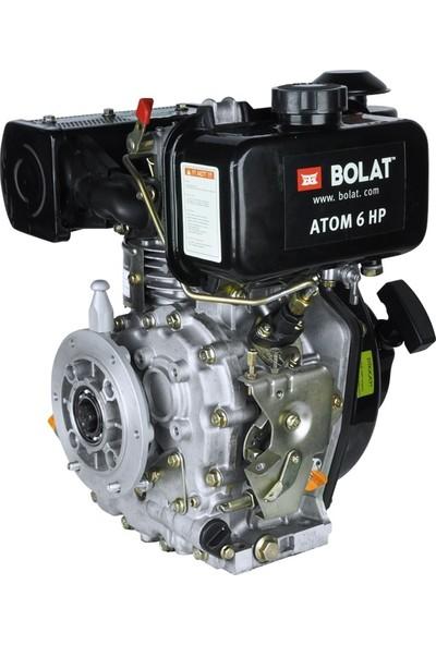 Bolat 6hp Dizel Motor(Çapa Tipi Frezeli Ipli)