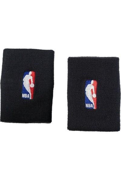 Nike Wristbands Nba Black/black Osfm Kol Bandi Siyah