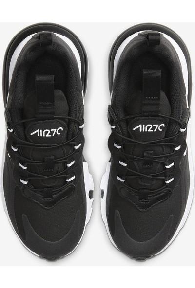 Nike Air Max 270 React Siyah-Beyaz Spor Ayakkabı