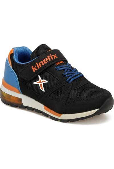 Kinetix Rıvero Siyah Saks Turuncu Erkek Çocuk Sneaker Ayakkabı