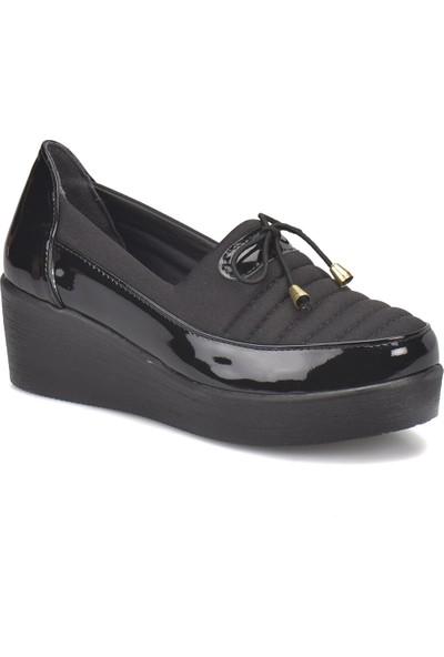 Travel Soft Sts001 Siyah Kadın Ayakkabı