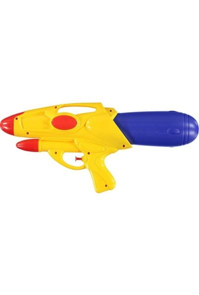 Can Em Büyük Su Tüfeği Oyuncak Su Tabancası Sarı Namlu 79719