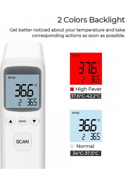 Remax YS-ET03 Ateş Ölçer Temassız Alından Ateş Ölçer Termometre