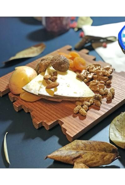 Did Homeware Erato Kestane Masif Ahşap Peynir Tahtası