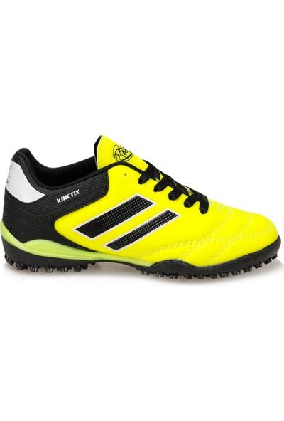 Kinetix Adolf Turf Neon Sarı Siyah Erkek Çocuk Halı Saha Ayakkabısı