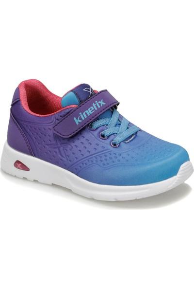 Kinetix Buruma Mor Mavi Kız Çocuk Sneaker Ayakkabı