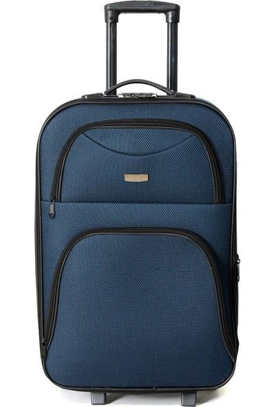 Travel Soft U Kmr 6001-O Lacivert Unisex Orta Valiz
