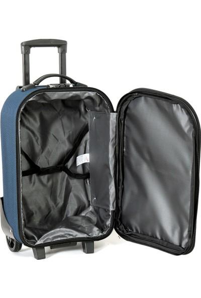 Travel Soft U Kmr 6001-K Lacivert Unisex Küçük Valiz
