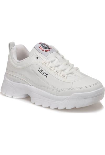U.S. Polo Assn. Meıko 9Pr Beyaz Kadın Sneaker Ayakkabı