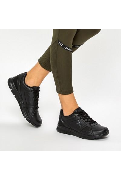 Kinetix Kalen Pu W 9Pr Siyah Kadın Koşu Ayakkabısı