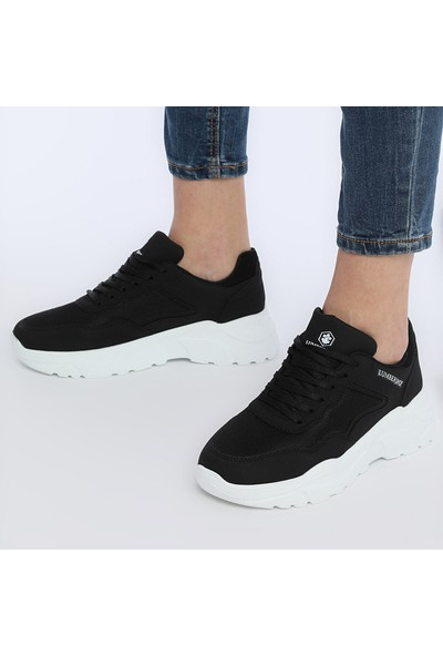 Lumberjack Henora 9Pr Siyah Kadın Sneaker Athletik