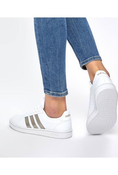 adidas Kadın Tenis Günlük Ayakkabı Ee7874 Grand Court Base