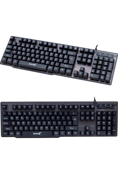 Lennox T302 Kablolu Klavye Mouse Set
