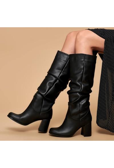 Butigo 19K-968 Siyah Kadın Çizme