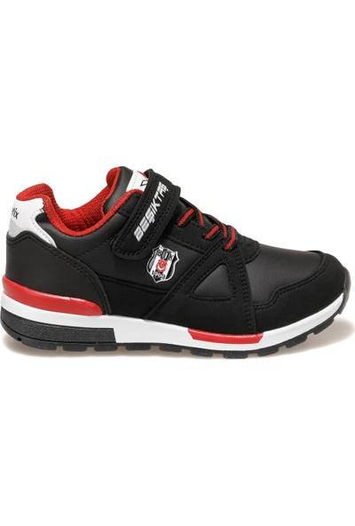 Kinetix Rivero Pu Bjk Erkek Çocuk Spor Ayakkabı-Siyah Kırmızı Beyaz