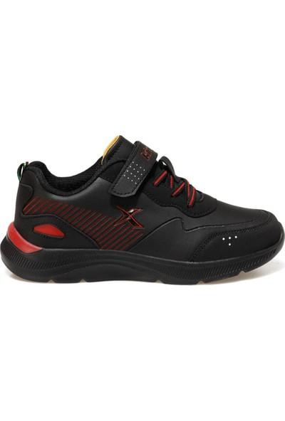 Kinetix Erkek Çocuk Kalın Taban Cırtlı Siyah Günlük Spor Ayakkabı Roars