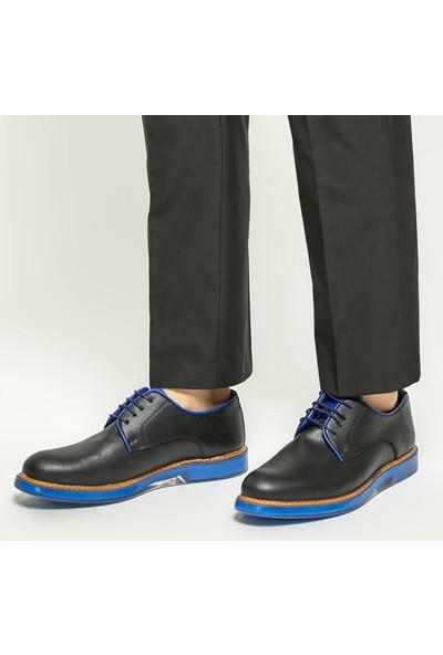 Jj-Stiller 51535-1 Siyah Erkek Ayakkabı