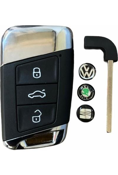 Volkswagen Passat Smart Yeni Nesil Krom Kumanda Kabı
