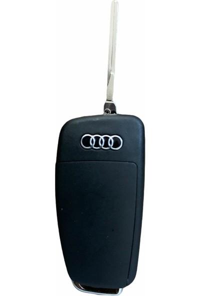 Audi 3 Buton Sustalı Kumanda Kabı