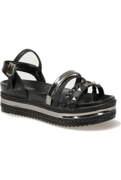 Butigo 19S-118 Siyah Kadın Sandalet