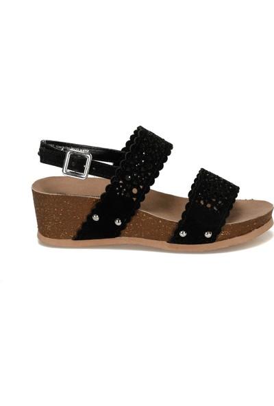 Travel Soft Trv1990 Siyah Kadın Sandalet