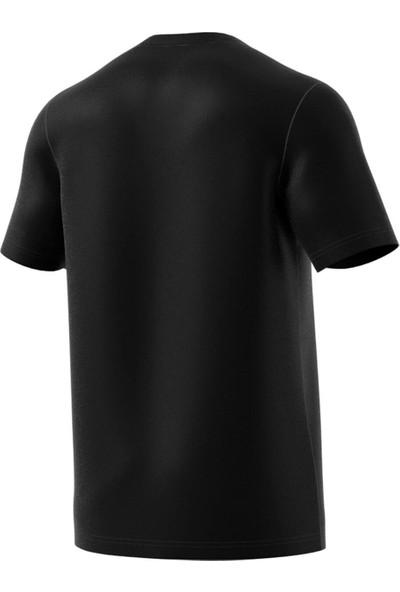 adidas Erkek Günlük Tişört Spor Siyah Du0367 E Pln Tee