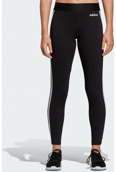 adidas Kadın Günlük Tayt DP2389 Siyah W Essentials 3 Stripes Tight