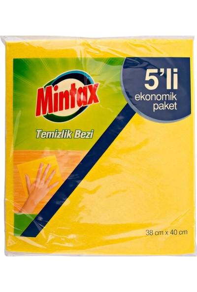 Mintax Temizlik Bezi 5'li x 1 Paket 10'lu