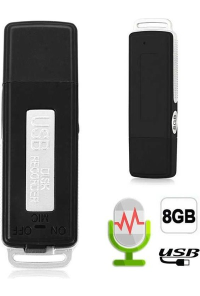 Nts USR-2108 8 GB Ses Kayıt Cihazı
