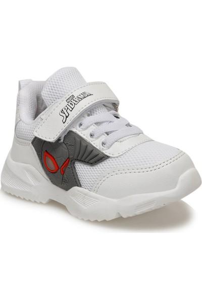 Spiderman Dion Beyaz Anatomik Işıklı Çocuk Spor Ayakkabı