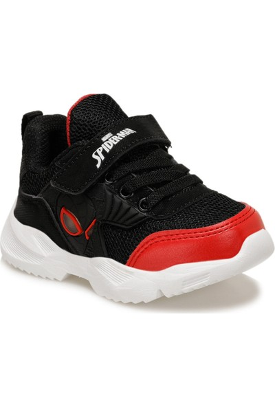 Spiderman Dion Siyah Anatomik Işıklı Çocuk Spor Ayakkabı