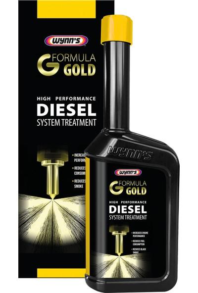 Wynns Diesel System Treatment Formula Gold - Dizel Sistem Onarıcı Yakıt Katığı / Katkısı