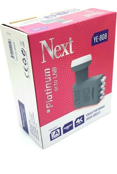 Next YE-808 8'li Platinum Lnb