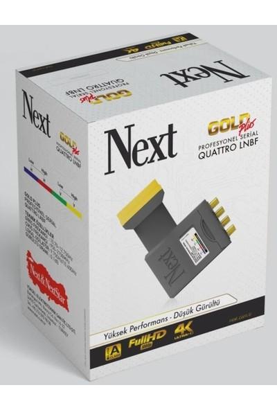 Next YE-777 Gold Plus Quattro Merkezi Sistem Lnb