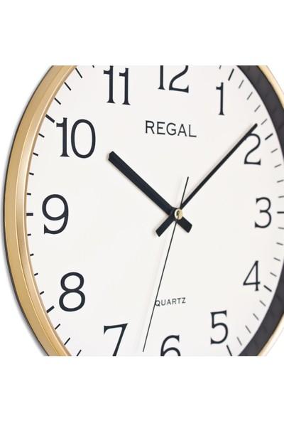 Regal 0250 GI İnce Çerçeve Slim Duvar Saati
