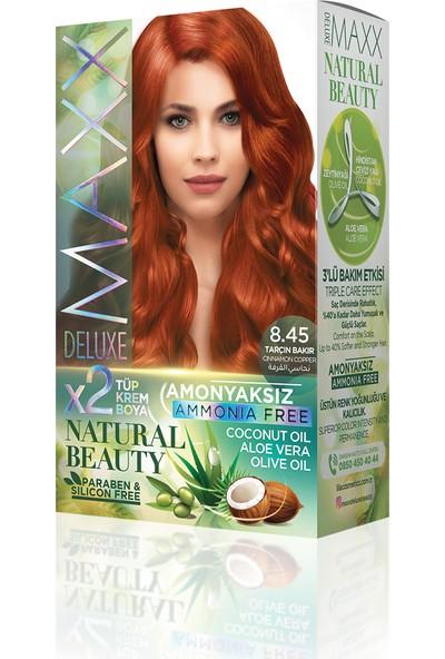 Maxx Deluxe Amonyaksız Saç Boyası 8.45- Tarçın Bakır