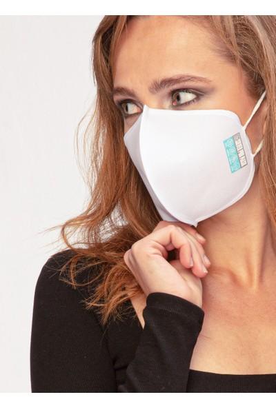 Silver Pro Mask Saf Gümüş İçerikli Yıkanabilir Maske Antivirial
