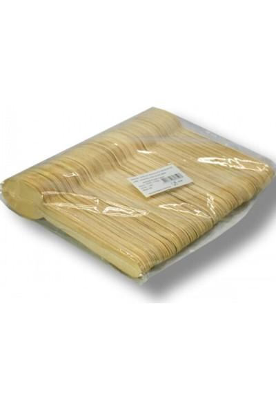 Leva Bambu Kaşık 100'LÜ