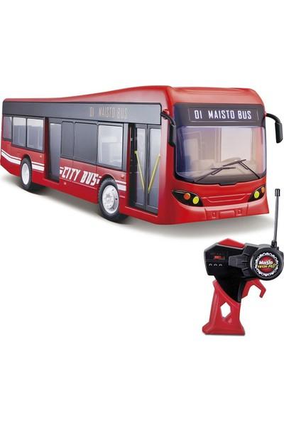 Maisto Rc Kırmızı Şehir Otobüsü 81481