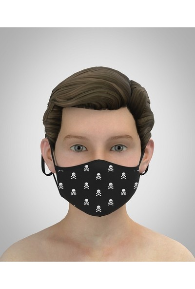 Park Row 3 Katlı Yıkanabilir Nano Erkek Çocuk Maske