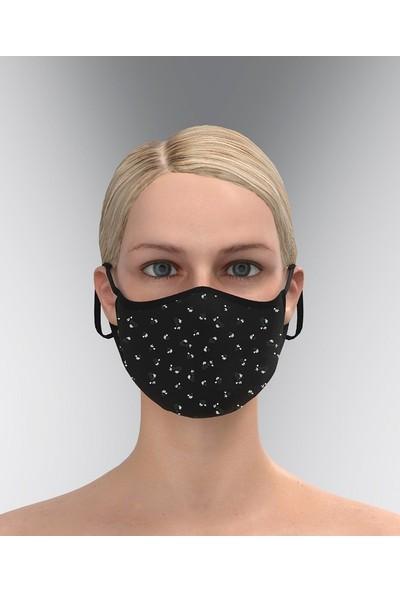 Park Row 3 Katlı Yıkanabilir Nano Maske-Çiçekli