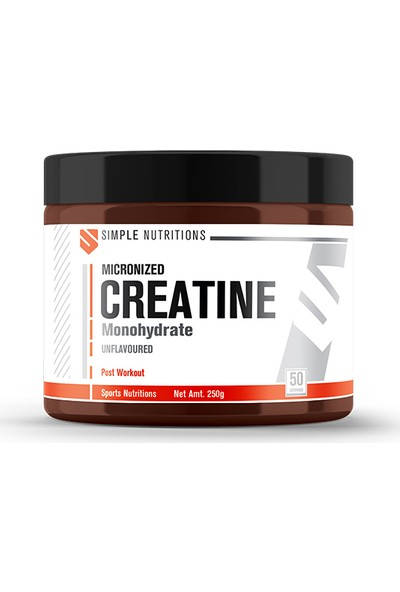 Simple Nutritions Creatine Unflavoured 250 gr