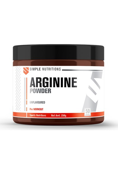 Simple Nutritions Arginine Unflavoured 250 gr
