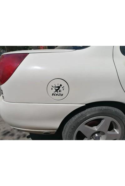 Oledya Araba Yakıt Deposu Kapağı Sticker
