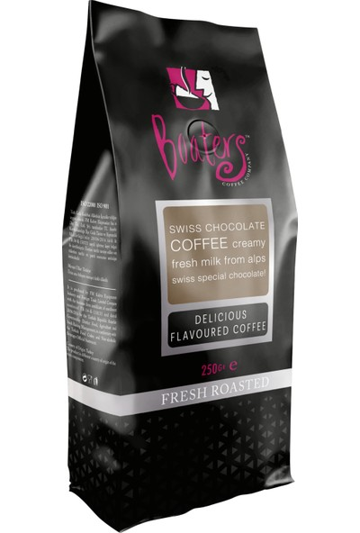 Boaters - Aromalı Filtre Kahve - Çikolata Badem - 250 gr