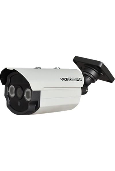 QROMAX PRO 163SM2 12'li 5 Megapiksel Sony Lens 1080P Aptina Sensör Güvenlik Kamerası Seti
