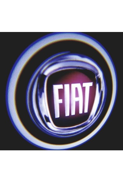 Atikan Fiat Pilli Mesafe Sensörlü Kapı Altı Logo