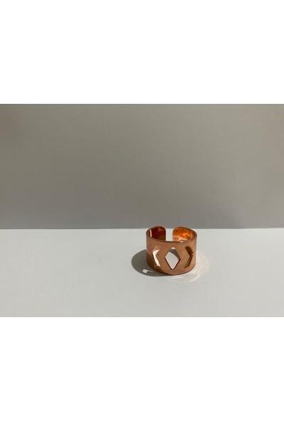 M&B Işaret Parmağı Yüzüğü Rose